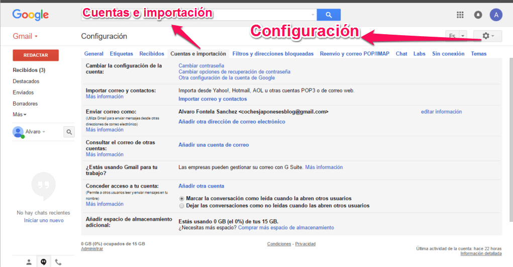 correo corporativo con gmail